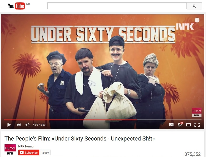 Under sixty seconds - Unexpected shit